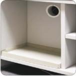 Кювета для установки в нижнюю тумбу (340*295*40мм) ЛАБ-PRO КЮВ 80