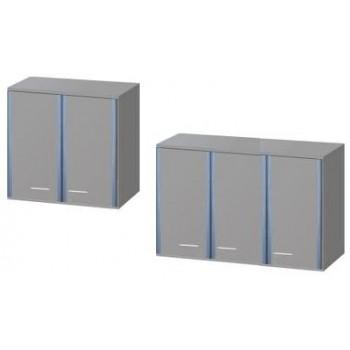 Навесной шкаф ЛАБ-PRO НШ 80.32.70 (дверки - софтформинг)