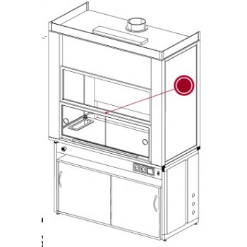 Раздвижные стеклодвери для установки в нижний подъемный экран ЛАБ-PRO РС 150