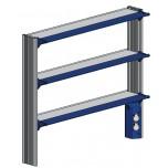 Стойка-стеллаж высокий, к пристенному столу ЛАБ-PRO СТПв 150.25.105