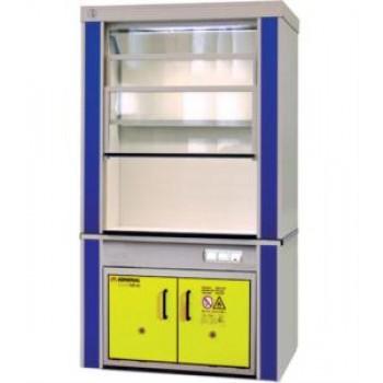Шкаф вытяжной для работы с ЛВЖ ЛАБ-PRO-ШВЛВЖ-D 150.85.240 F20
