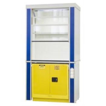 Шкаф вытяжной для работы с ЛВЖ ЛАБ-PRO-ШВЛВЖ-J 120.75.240 F20