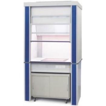 Шкаф вытяжной с встроен. стеклокерам. плитой ЛАБ-PRO ШВВП 120.92.245