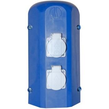 Электроблок настольный (2 розетки 3,2кВт (IP54), 1 автомат 20А) ЛАБ-PRO ЭБ2