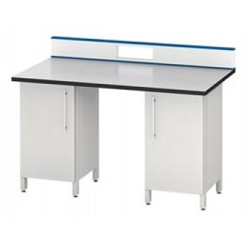 Стол для хроматографа/спектрометра ЛАБ-PRO СХ-Т2 150.85.90/105 FA (FANERIT, 2 одинарные тумбы)