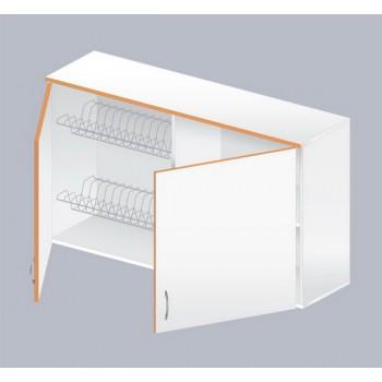 Шкаф навесной ЛАБ-1200 НШс (с суш. стеллажом для посуды)