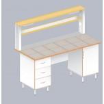 Стол пристенный физический ЛАБ-1800 ПК