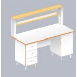 Стол пристенный физический ЛАБ-1800 ПЛ